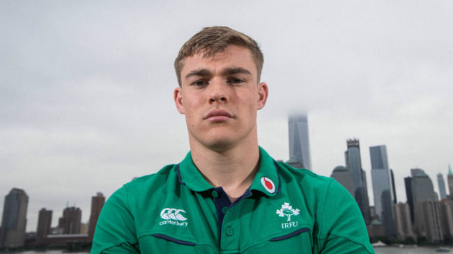 Irish Rugby TV: Garry Ringrose Preparing For USA Challenge