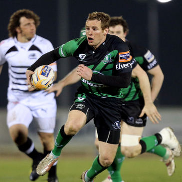 Gavin Duffy in action for Connacht