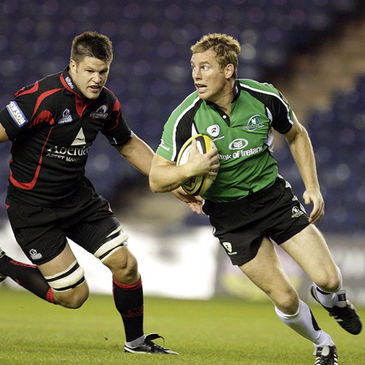 Connacht's stand-in captain Gavin Duffy in action against Edinburgh