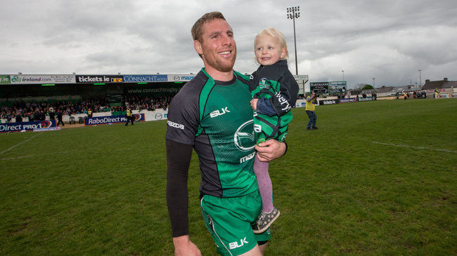 Gavin Duffy with his daughter Jessica