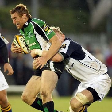 Gavin Duffy in action for Connacht against Leinster
