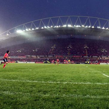 Thomond Park will host the Shannon v Garryowen game