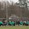 The players enjoyed a light run-out in the picturesque setting of Carton House in Kildare