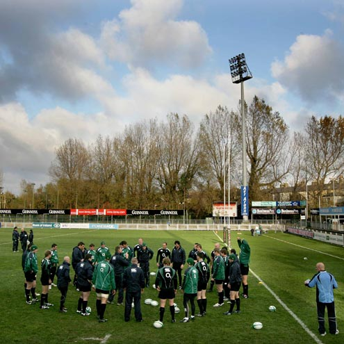 Ireland Squad Training At Donnybrook, Monday, November 3, 2008