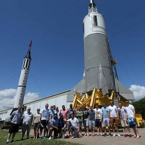 Ireland Squad Visit NASA's Johnson Space Centre, Houston, Texas, Wednesday, June 5, 2013