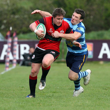 Action from last season's AIB Junior Cup final