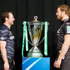 Long-serving Leicester Tigers captain Geordan Murphy faces up to Ospreys skipper Alun Wyn Jones. The sides have been paired together in Pool 2 of this season's Heineken Cup