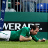 Darren Cave provided the final pass which sent full-back Geordan Murphy over for the Ireland Select XV's first try of the second half