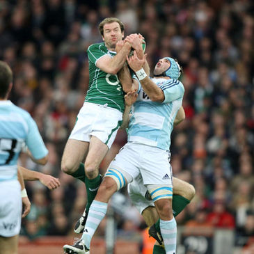 Geordan Murphy rises highest against Argentina