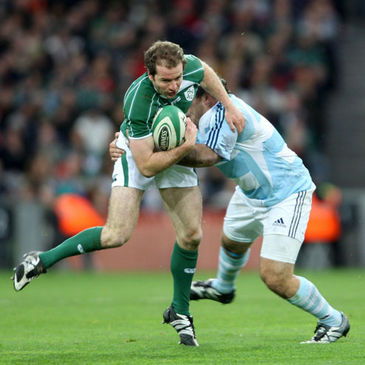 Geordan Murphy in action against Argentina