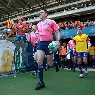 George Clancy runs out for last season's semi-final between Northampton Saints and Perpignan