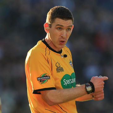 George Clancy will referee the Rugby World Cup opener
