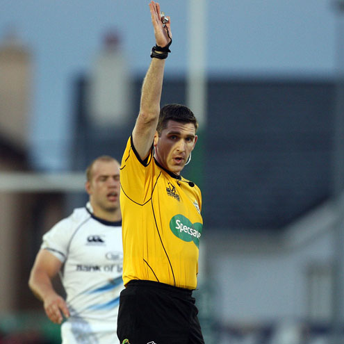 IRFU internation referee George Clancy