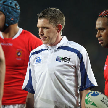 IRFU international referee George Clancy