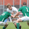 England lock George Kruis has two Ireland players for company in the form of Brian Hayes and Jack O'Connell