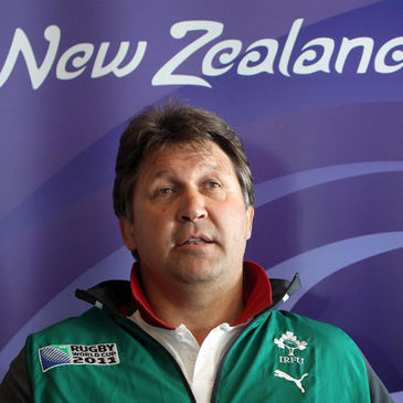 Ireland forwards coach Gert Smal