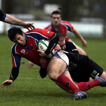 Giles Boland on the attack for UL