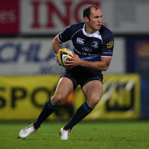 Girvan Dempsey in action for Leinster last season
