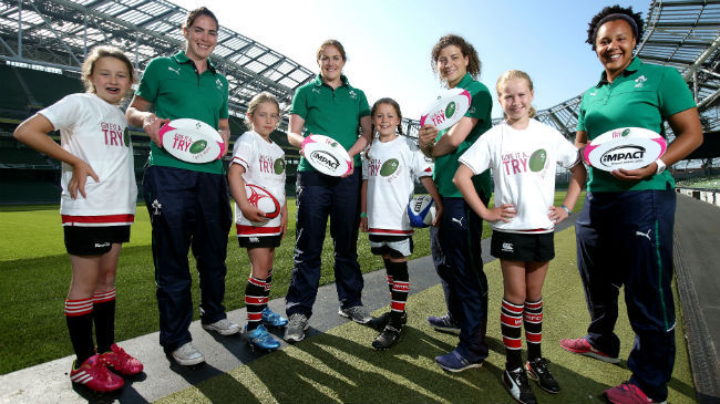 Give It A Try: IRFU Targets Next Generation Of Women's Rugby