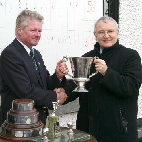 Corinthians won the Glynn Cup on St. Patrick's Day