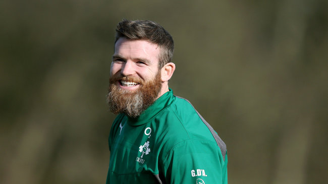 Ireland Squad Training Session At Carton House, Maynooth, Thursday, February 6, 2014
