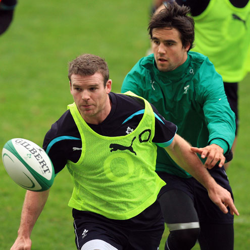 Ireland Squad Training At Thomond Park, Thursday, October 28, 2010