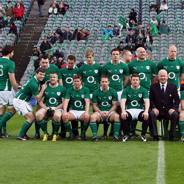 Not the official IRFU squad photo!