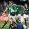 Just a few minutes later, Brian O'Driscoll's centre partner Gordon D'Arcy pierced his way through the heart of the Italian defence