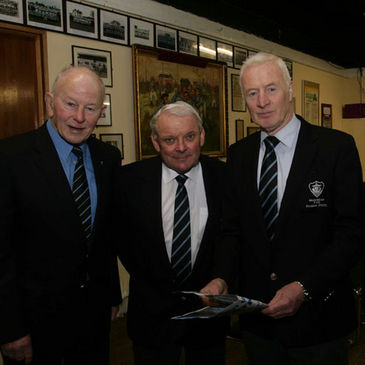Brendan Guerin, Billy Quinn and Noel Leader