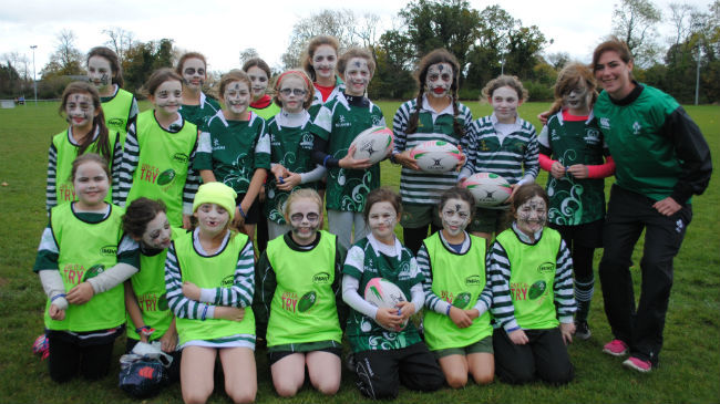 Connacht And Leinster Girls 'Give It A Try'