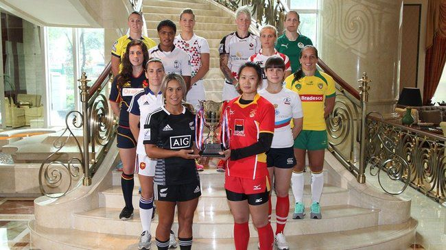 Squads Gather For Guangzhou Sevens In China