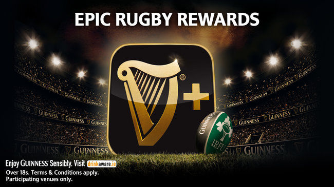 Epic Rewards with Guinness