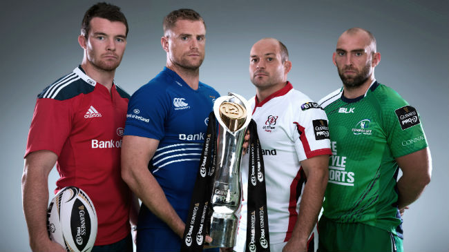 Irish Rugby TV: GUINNESS PRO12 Launch