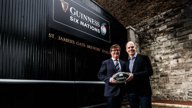 GUINNESS Announced As Title Sponsors Of Six Nations
