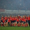 An incredible moment at Thomond Park as Munster's four New Zealanders perform their own haka