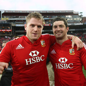 Jamie Heaslip and Rob Kearney
