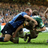 Northampton continued to mount attacks as the first half came to a close. Richardt Strauss and Jamie Heaslip had to be on their toes to deny Chris Ashton