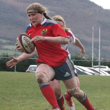 Munster Women's captain Heather O'Brien