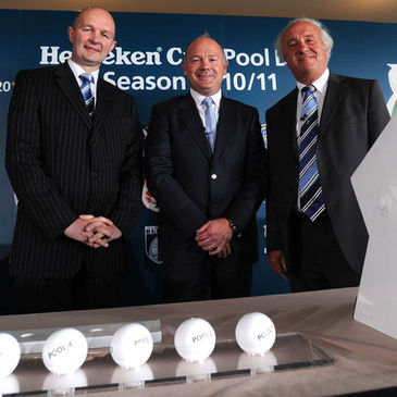 The Heineken Cup semi-final draw will be made on Sunday
