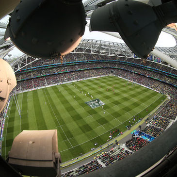 The Heineken Cup final was hosted in Dublin last season