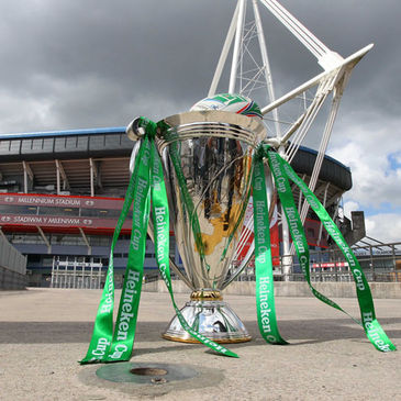 The Heineken Cup in Cardiff