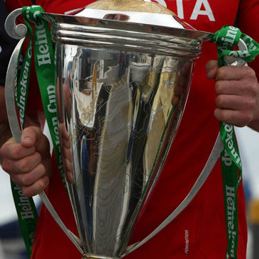 The Heineken Cup trophy
