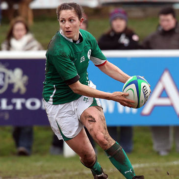 Ireland out-half Helen Brosnan