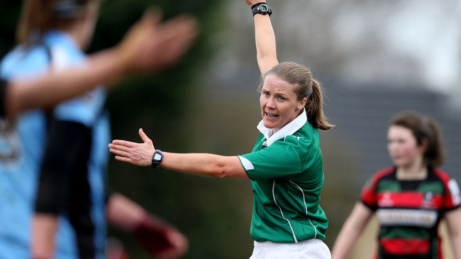 O'Reilly First Female Referee On IRFU National Panel