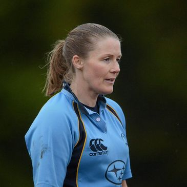 IRFU Women's referee Helen O'Reilly