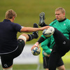 Ulster duo Chris Henry and Tom Court will start for Ireland in Friday's uncapped international against New Zealand Maori