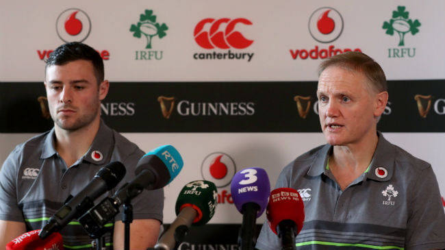 Irish Rugby TV: Ireland Team Announcement Press Conference : Irish Rugby