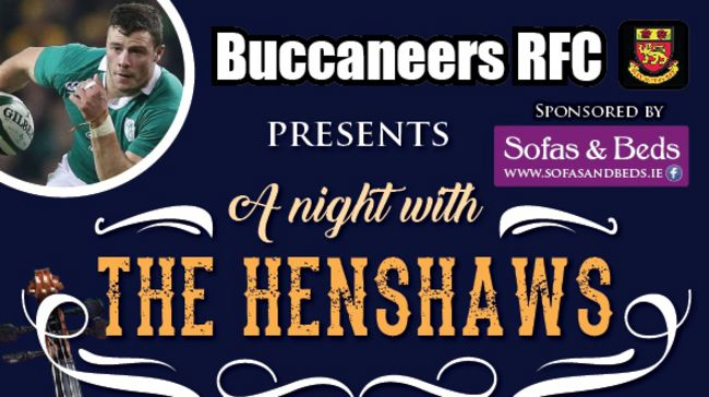Buccaneers To Host Robbie Henshaw Event This Friday