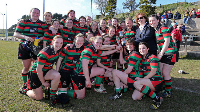 Highfield win the 2013 Women's All-Ireland Cup