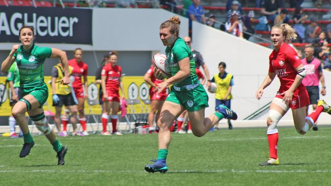 Ireland Women Beat Canada For First Time But Lose Challenge Trophy Final